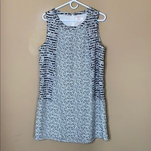 COPY - Skies are Blue patterned dress